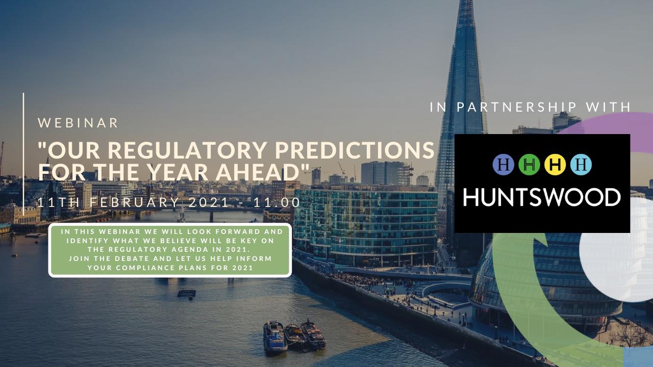 Regulatory Outlook 2021
